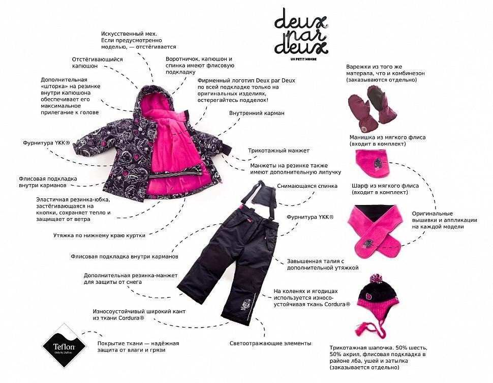 Особенности верхней одежды Deux par Deux