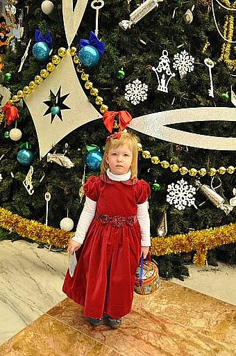 Новогодний бал в нарядах Американской принцессы