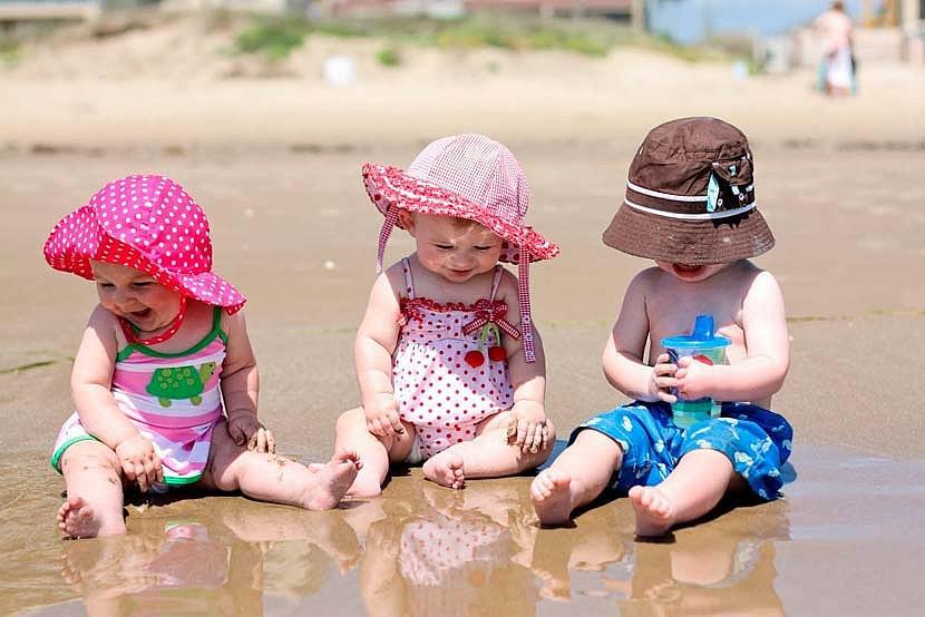 Как  детям не обгореть летом