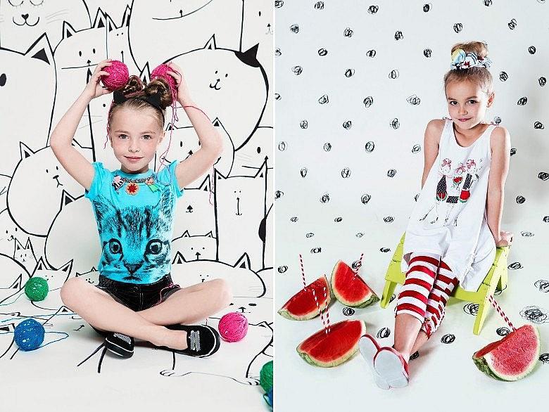 Дети и оттенки в одежде