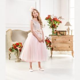 efa236418242 Нарядные платья для девочек • Купить вечерние нарядное детское ...